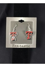TT Red Raiders Earrings