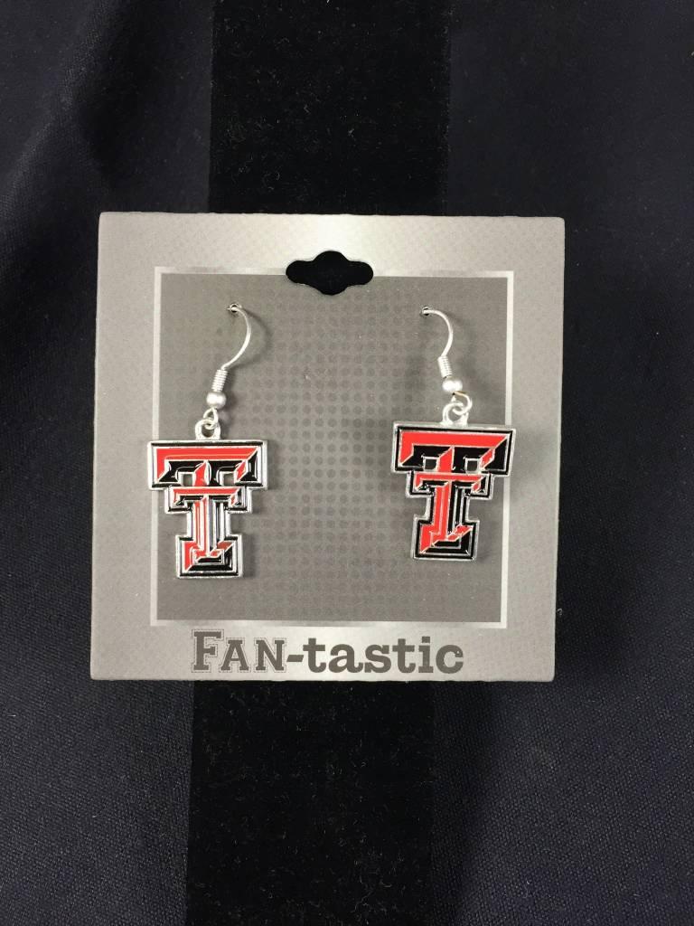 TT Red Raiders Earrings