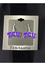 TCU Horned Frogs Earrings