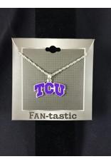 TCU Horned Frogs Necklace