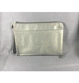 Zip around envelope - BLK - Texas State Seal