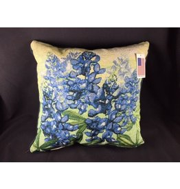 Texas Pillow - Bluebonnet 17""