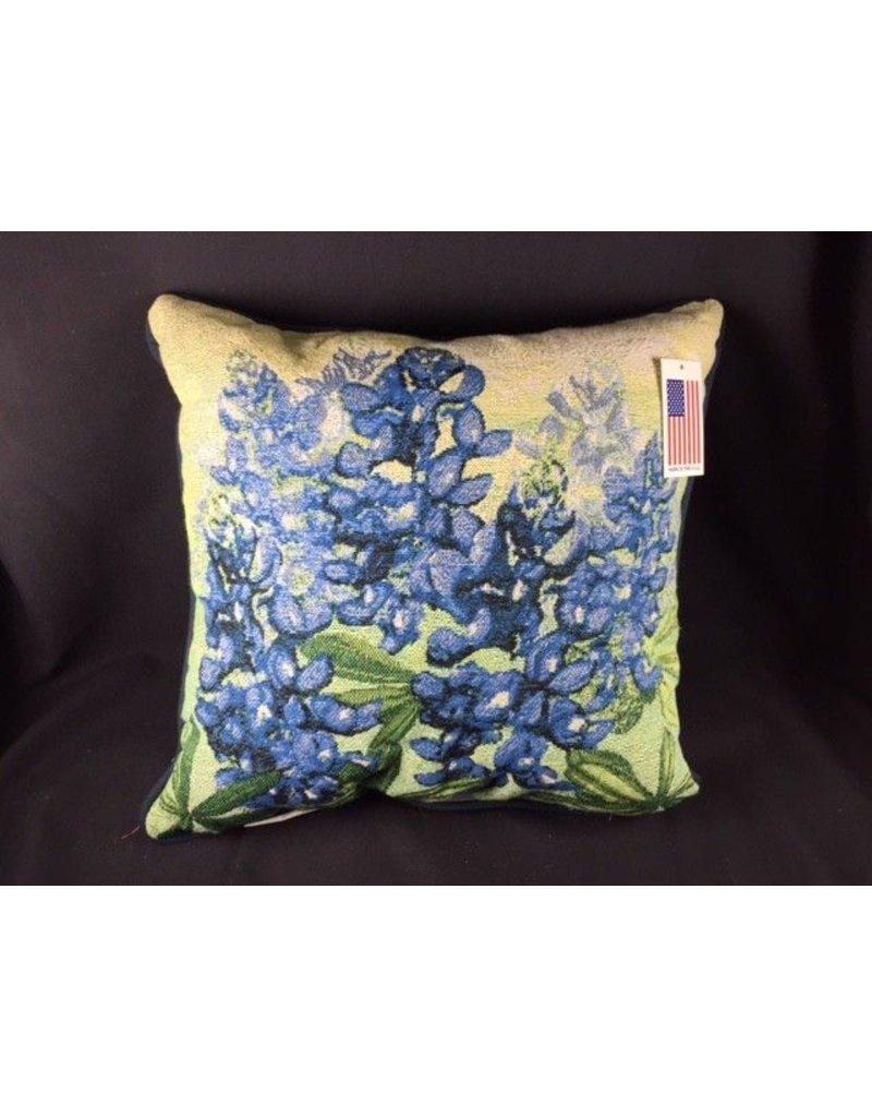 """Texas Pillow - Bluebonnet 17"""""""