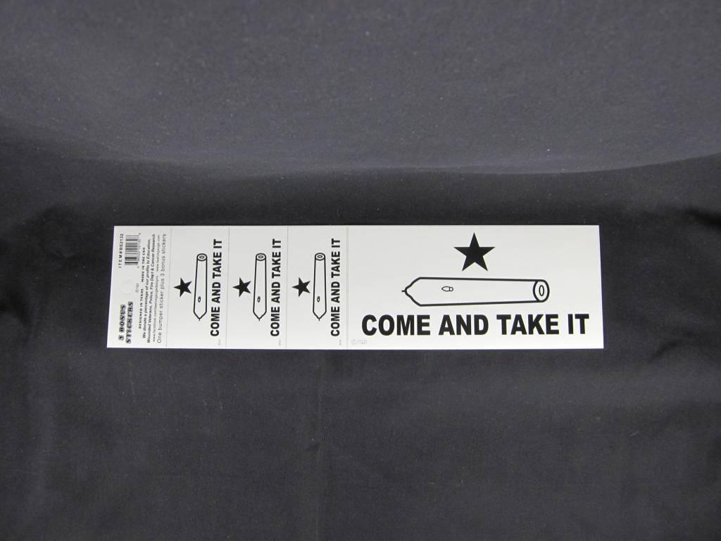 Bumper Stickers - Come and Take It w/ bonus