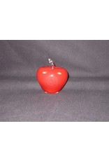 Murano Style Red Apple - Texas State Seal