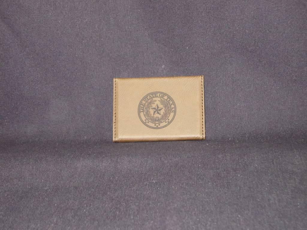 Business Card Holder / Dark / Hard Leather