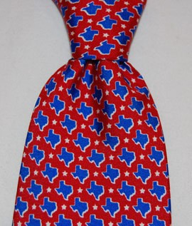 Tie/TX Stars-Red/Blue