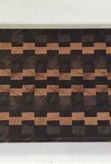 Richard Rose Culinary End Grain Charcuterie Board Walnut Cherry 18 x 6 x 1/2