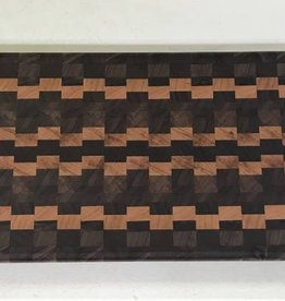 Richard Rose Culinary End Grain Charcuterie Board Walnut Cherry 18 x 6 x 1/2