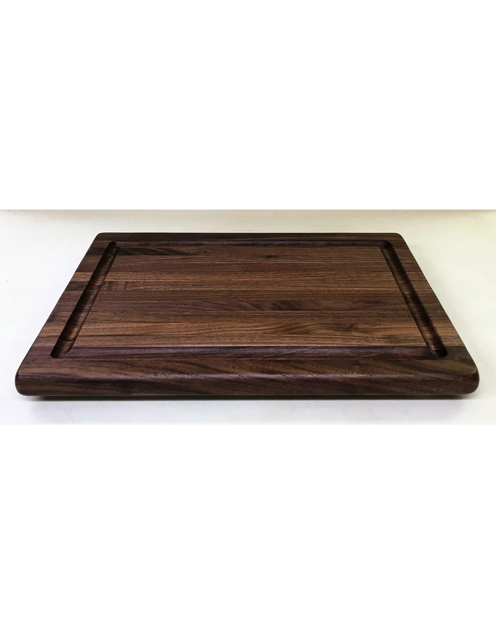 Richard Rose Culinary Edge Grain Walnut Cutting Board with juice groove
