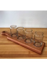 Richard Rose Culinary Craft Beer Flight with Glasses