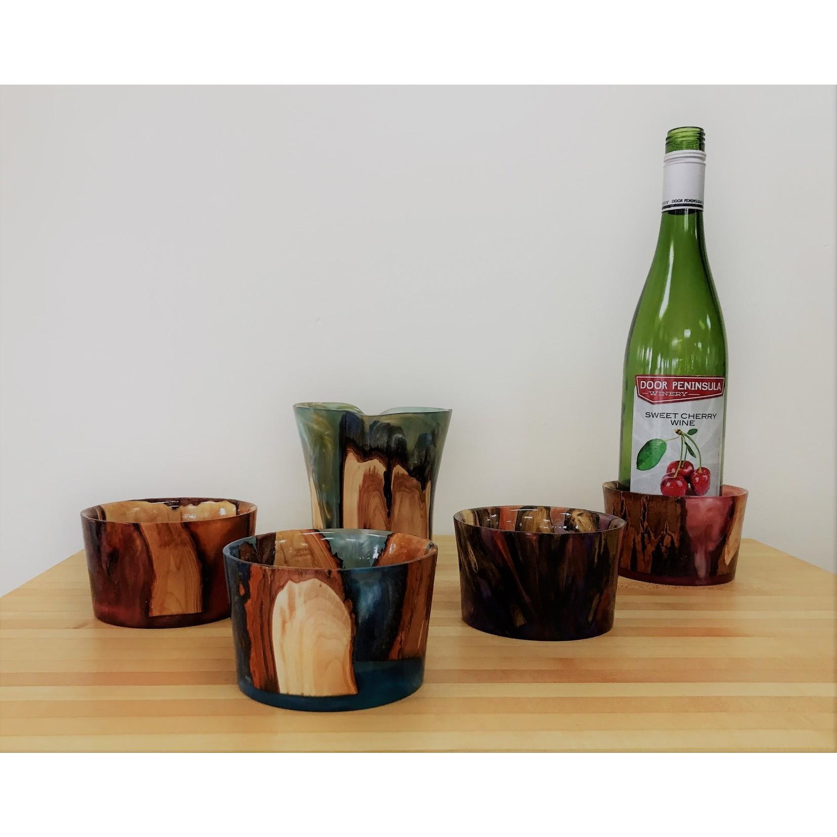 Ronald Bemmann Wine Bottle Coasters
