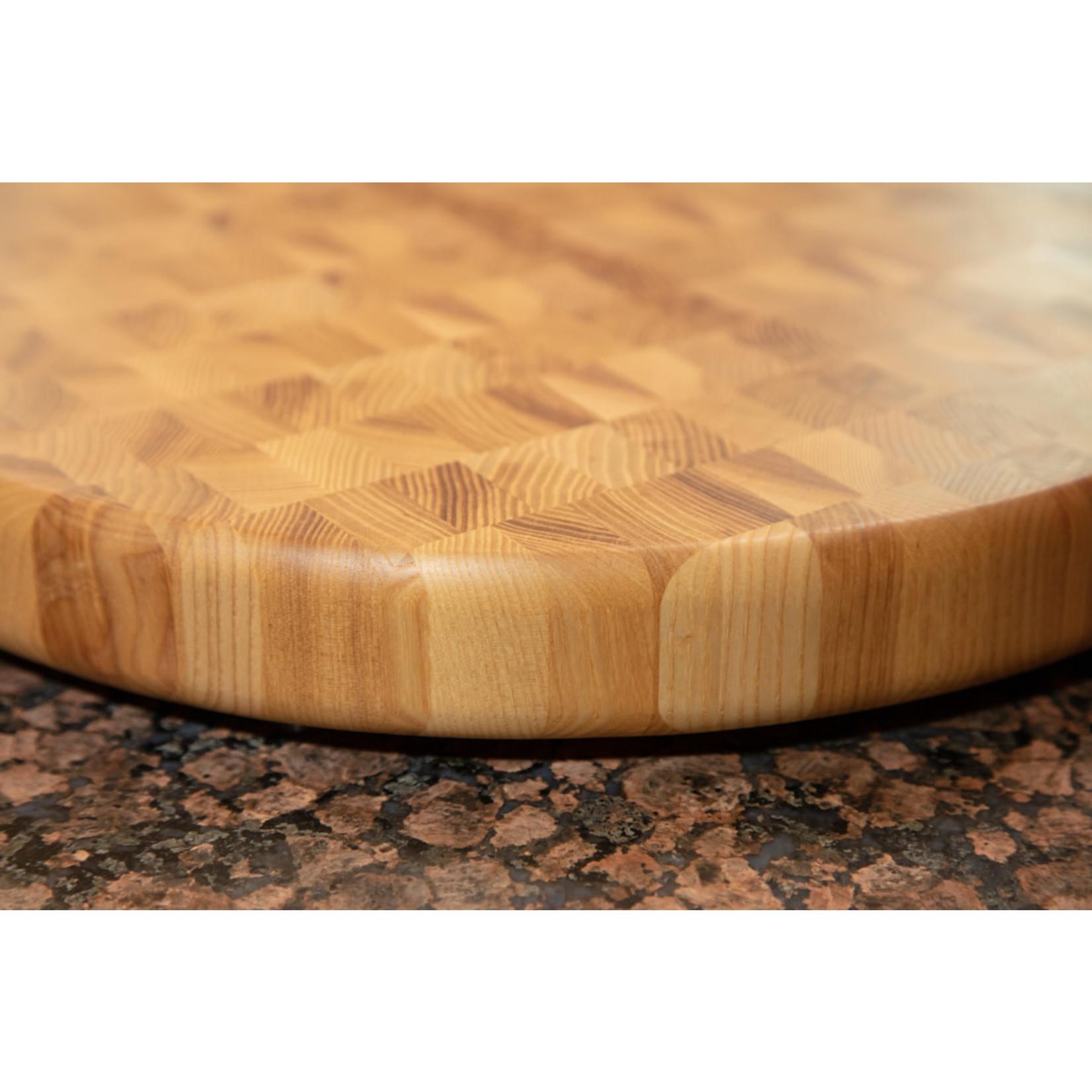 Richard Rose Culinary End Grain Round Cutting Board