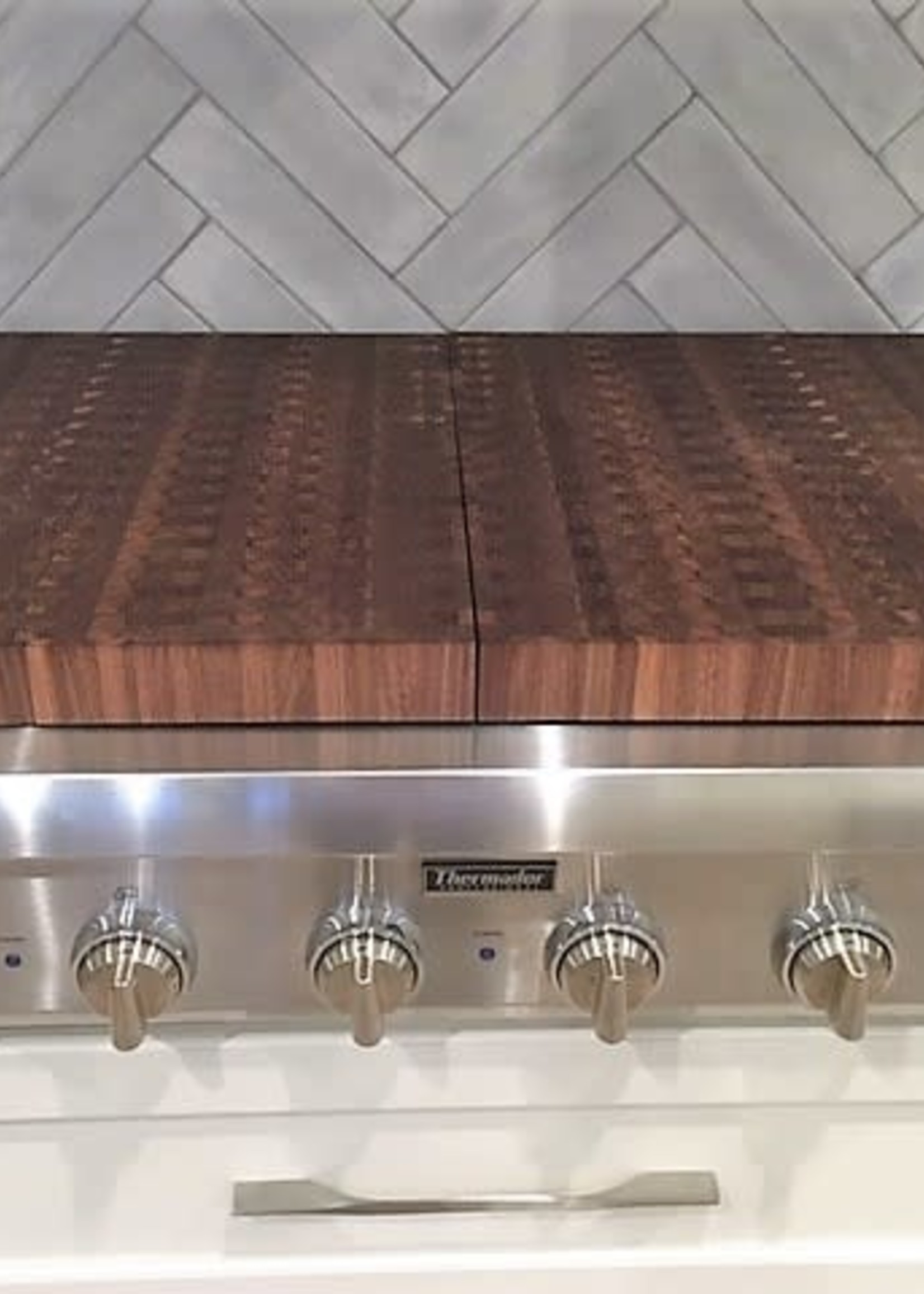 Richard Rose Culinary Custom Stove Top Covers-2 Covers for 6 Burners