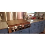 Richard Rose Culinary Custom Stove Top Covers-  2 Covers for 6 Burners
