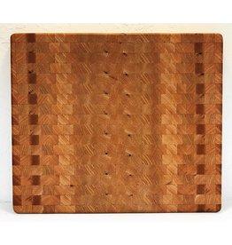 Richard Rose Culinary End Grain Cutting Board-Red Oak