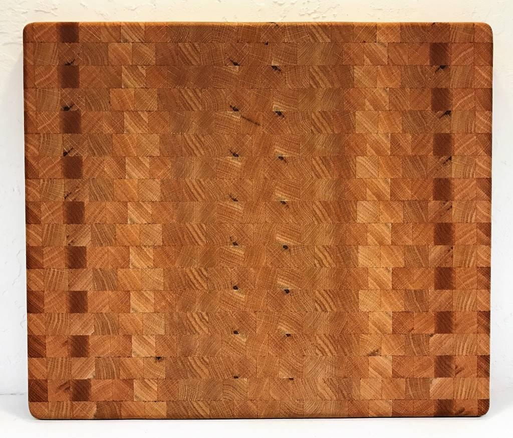 Richard Rose Culinary End Grain Red Oak Cutting Board