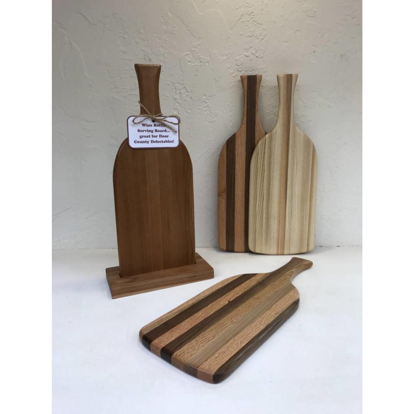 Richard Rose Culinary Wine Bottle Shaped Cutting Board