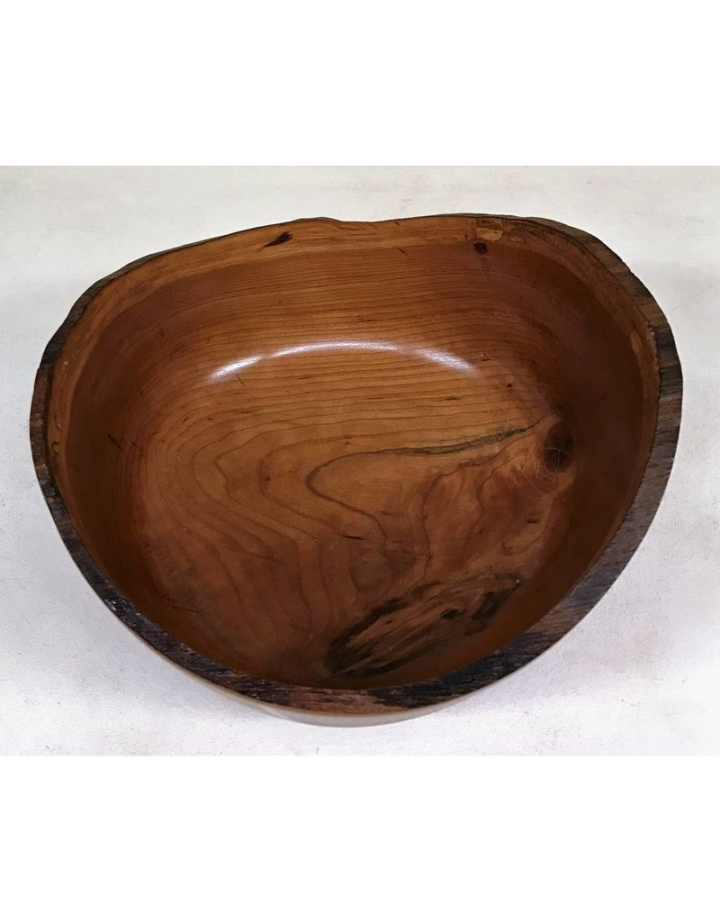 "Ronald Bemmann 9"" Wild Black Cherry Bowl"