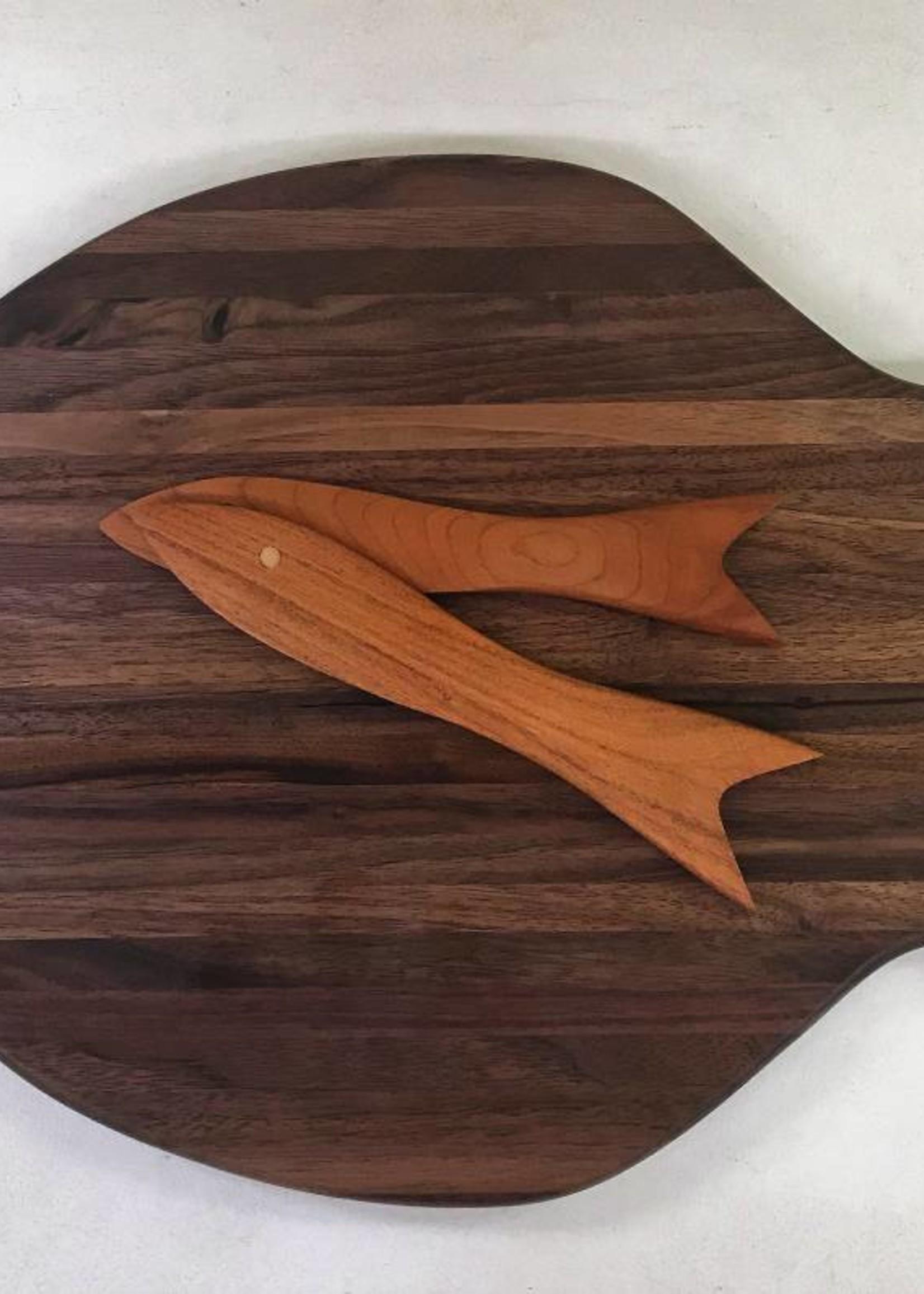 Richard Rose Culinary Fish shaped Cutting Board Walnut