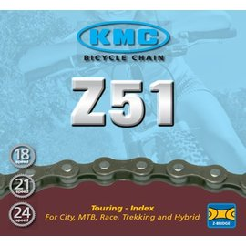 KMC KMC, Z51, Chain, 6-7-8sp., 116 Links, Brown