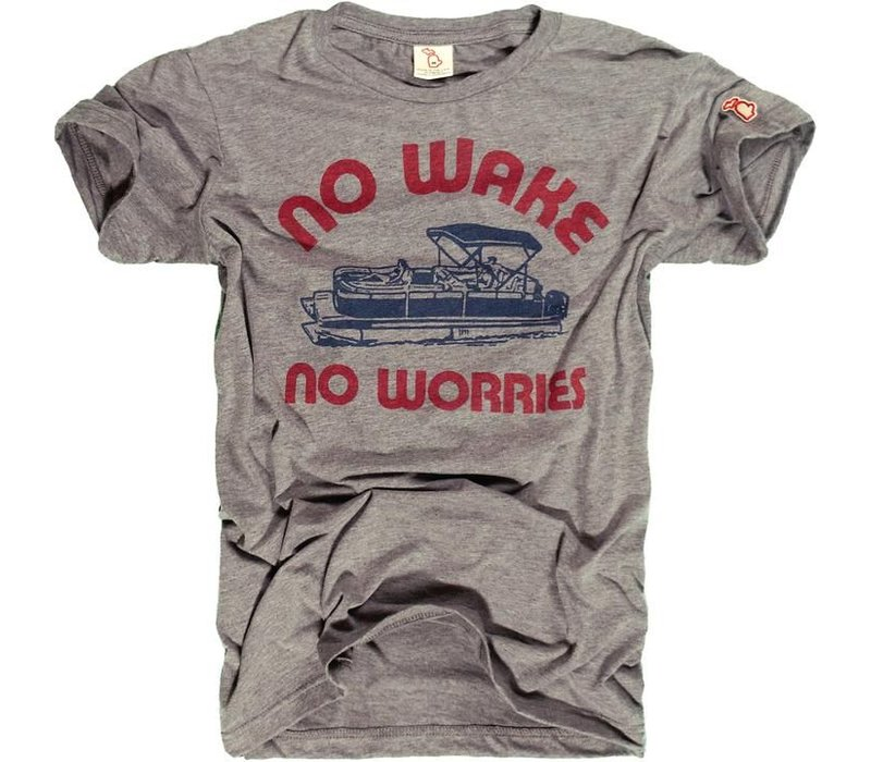 The Mitten State No Wake, No Worries Tee