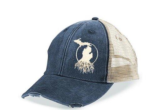 MI RootsWear MI RootsWear Weathered Trucker Hat