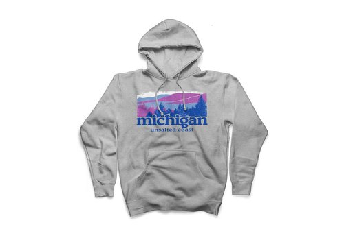 Unsalted Coast Unsalted Coast Michigan Landscape Hoody