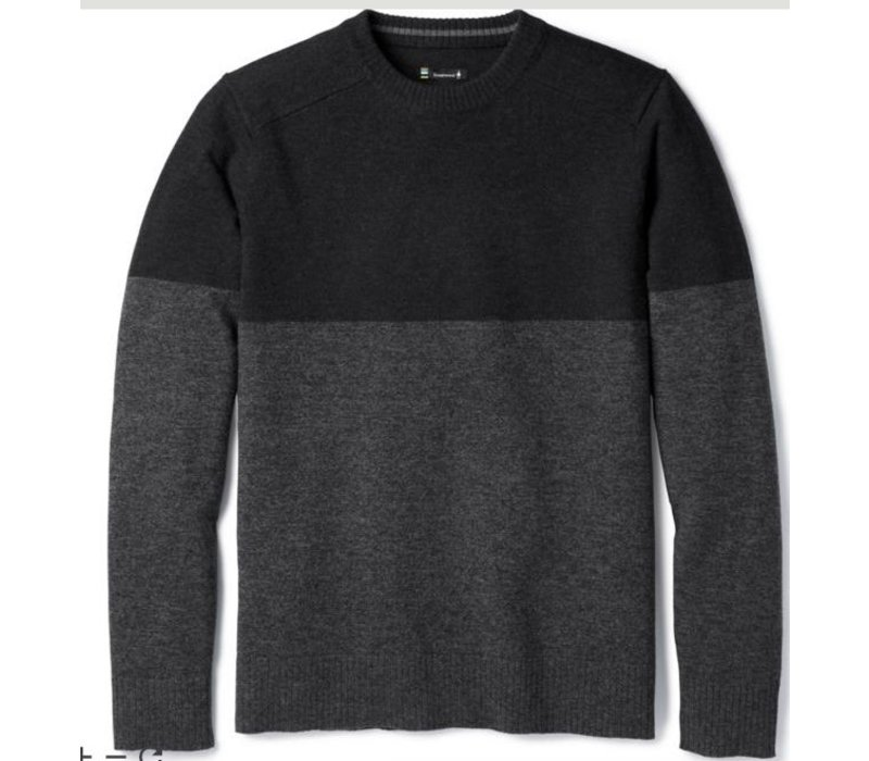 Smartwool M Sparwood Colorblock Crew Sweater