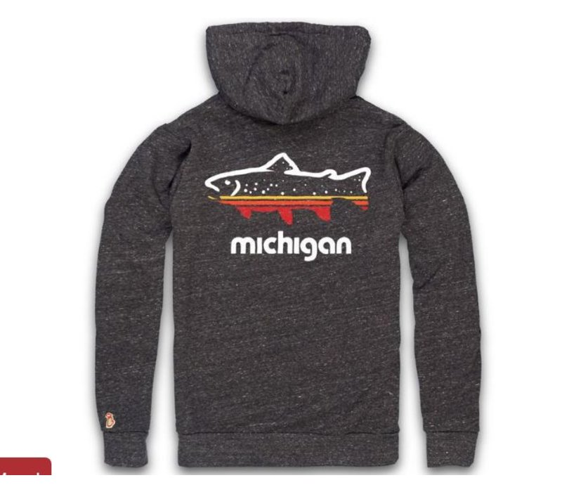 The Mitten State Michigan Outdoors Hoody