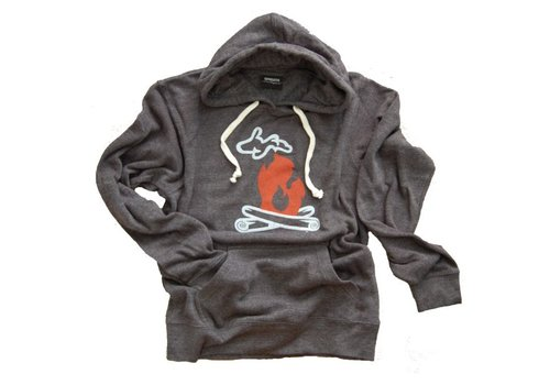 Threads UpNorth Michigan Unisex Campfire Fleece Hoodie
