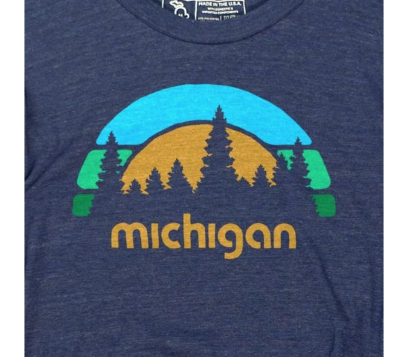 The Mitten State Michigan Outdoors LS
