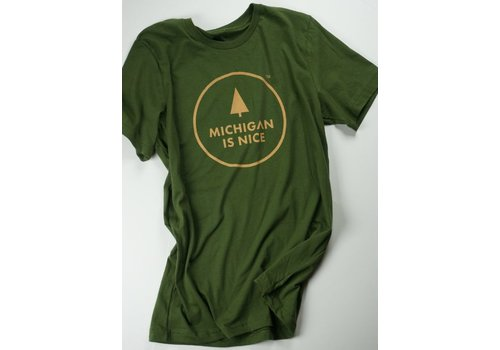 Silkscreen Marketing Silkscreen Marketing Michigan is Nice Tee