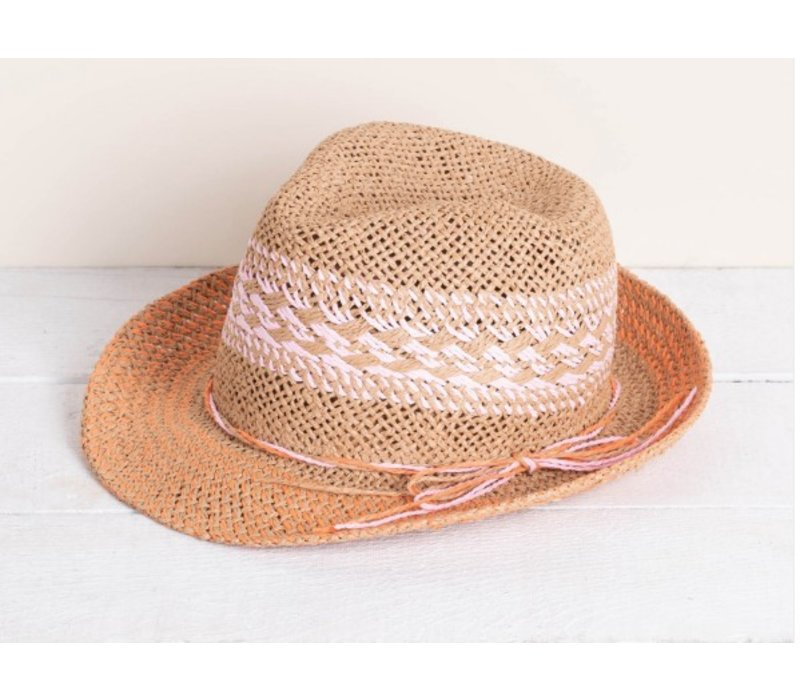 Hatley Braided Fedora Hat