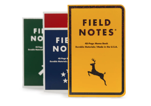 Field Notes Field Notes Mile Marker 3 pack