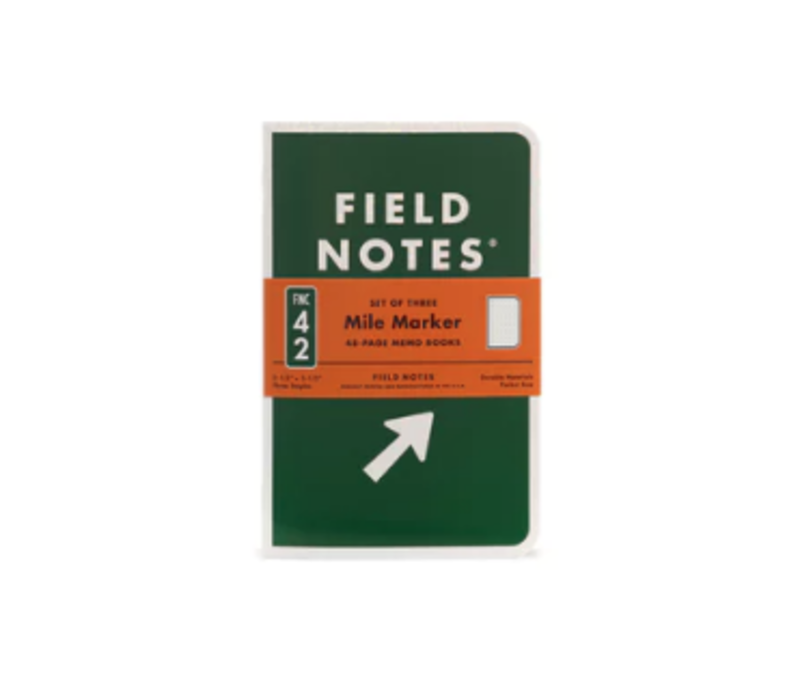 Field Notes Mile Marker 3 pack