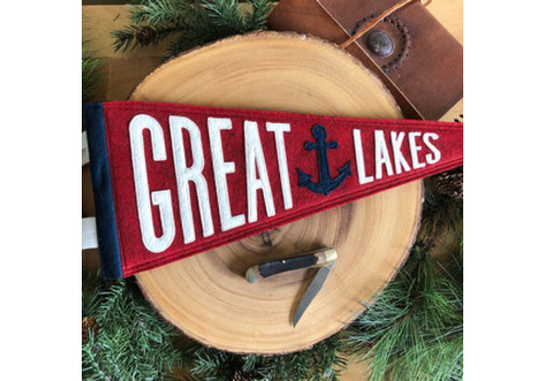 Yoho & Co Yoho & Co Felt Pennant Great Lakes