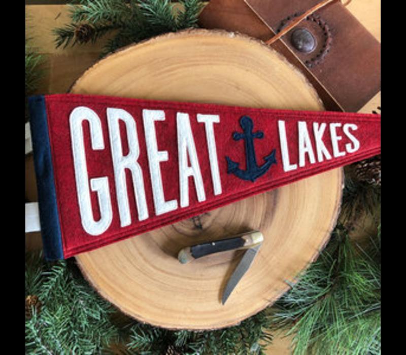 Yoho & Co Felt Pennant Great Lakes