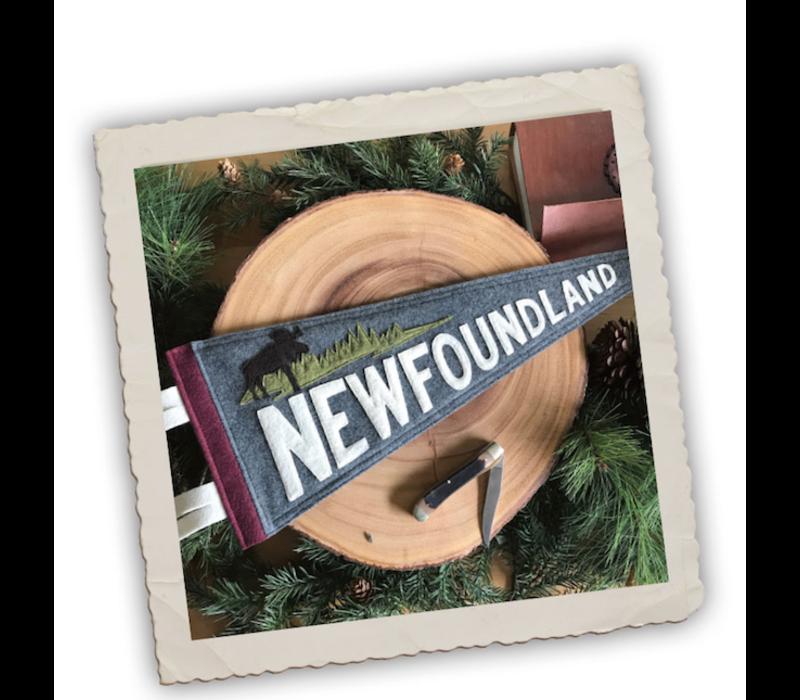Yoho & Co Felt Pennant Newfoundland