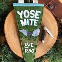 Yoho & Co Felt Pennant Yosemite
