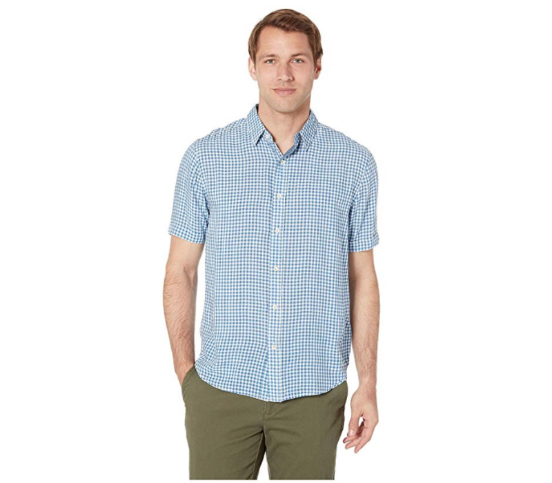 True Grit Beachhouse Checks 1 Pocket Shirt