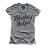 Solid Threads Solid Threads W's Whiskey Helps T-shirt