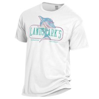 Gear For Sports Old School Landsharks Tee w/ Pocket