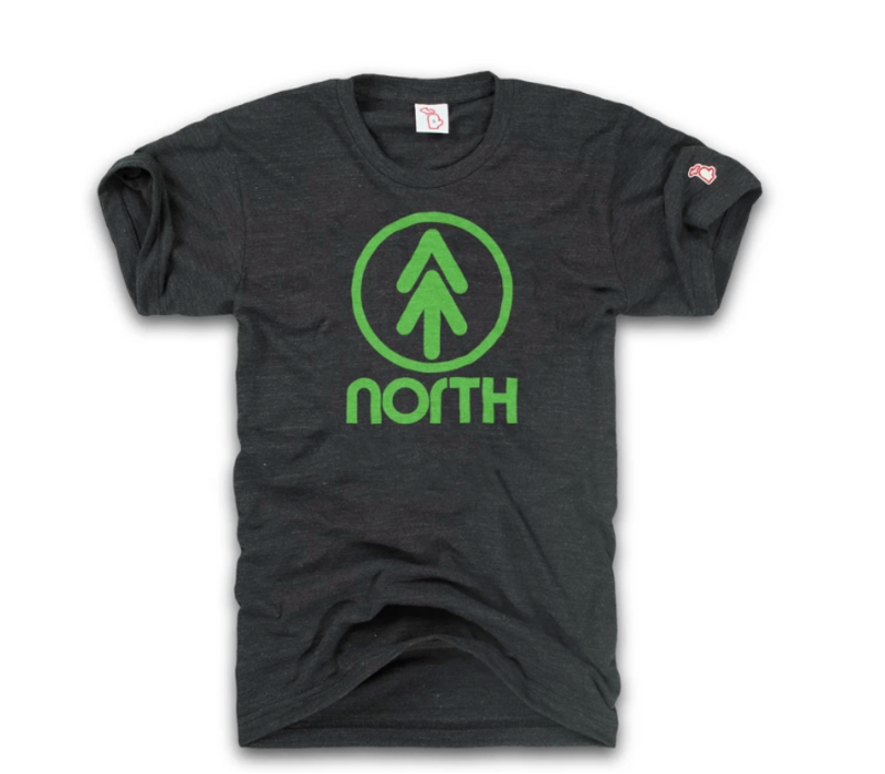 The Mitten State - Up North Tee