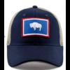 Civil Standard Civil Standard CS Flag Trucker Hat, Wyoming, O/S