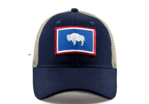 Civil Standard Civil Standard CS Flag Trucker Hat, Wyoming, O/S