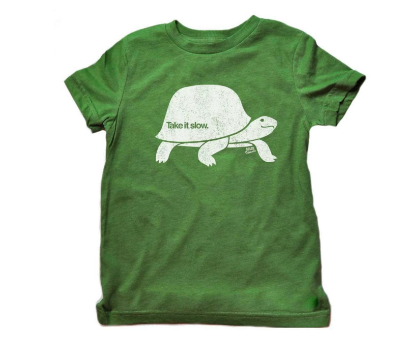 """Solid Threads Toddler's """"Take it Slow"""" T-Shirt"""