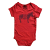 """Solid Threads Solid Threads Baby """"Bad A**"""" Onesie"""