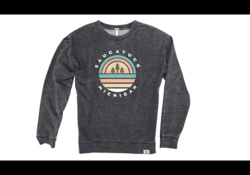 TechStyles Tech Styles W's Saugatuck Trees & Sunset Sweatshirt