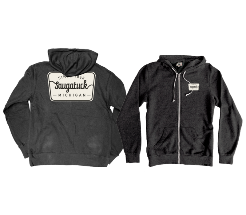 Tech Styles Full-Zip Saugatuck Patch Hoody